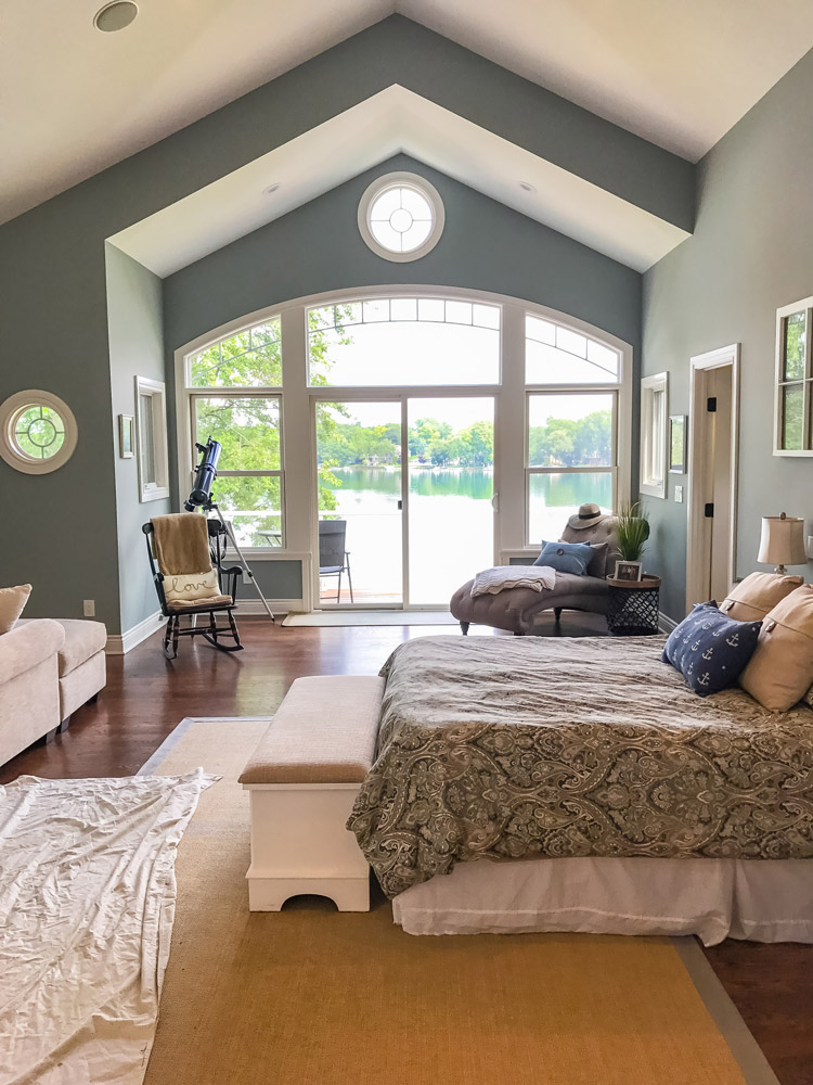 Metro Paint Group - Master Bedroom Painting